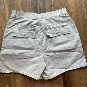 Vintage High waisted khaki shorts size m